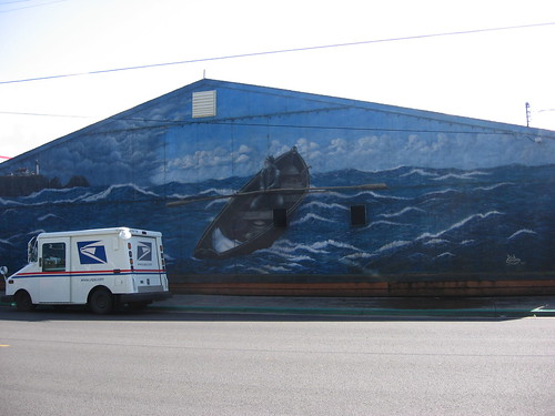 mural in old Newport | by hoogstra