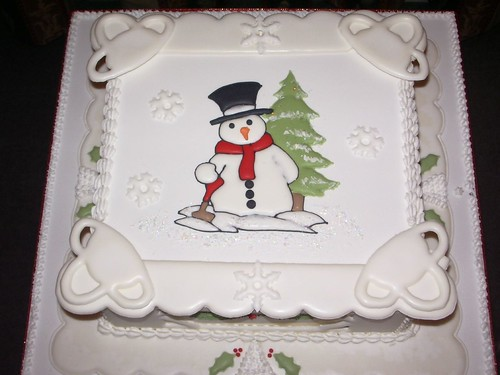Royal iced christmas cake richard harris flickr for Iced christmas cakes