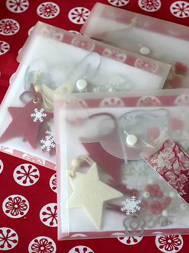 FAA lucky parcel swap:: red, white&silver | by namolio