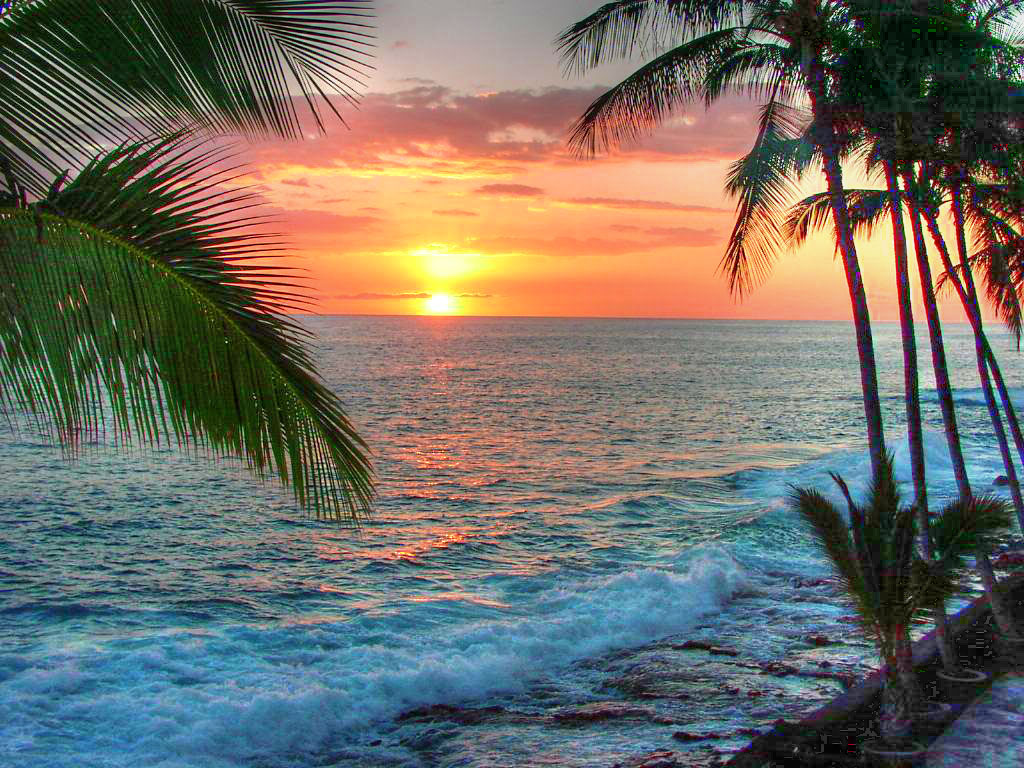 Big Island Sunset Big Island Sunset | by al