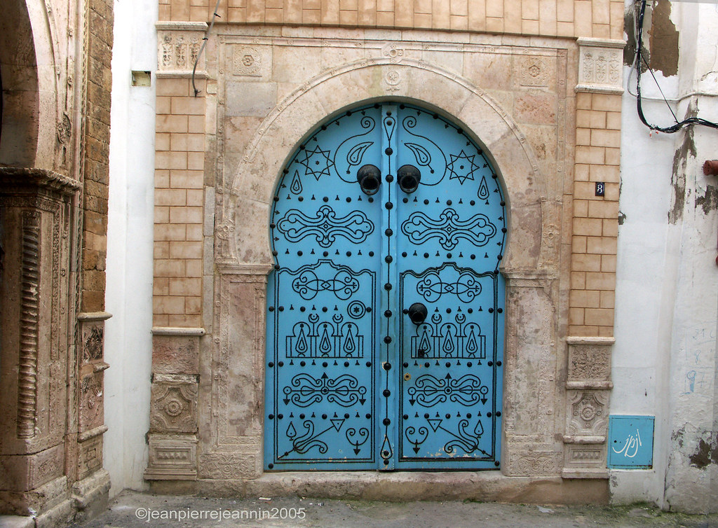 Tunisie portes de sidi bou sa d 683sc sidi bou sa d for Decoration porte sidi bou said