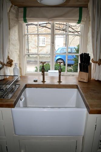 Kitchen Sink Corner Faucet