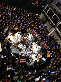 boredoms in the round at terminal 5 | by trontnort