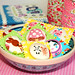 XL large Japanese fabric buttons