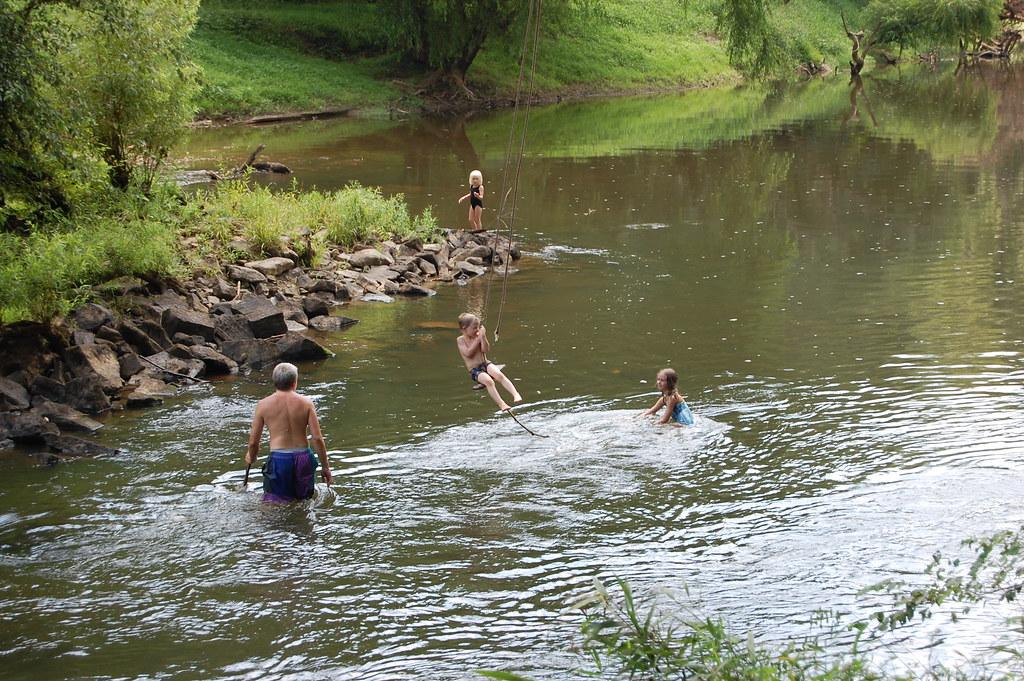 Swimming Hole Deep River Swimming Hole Cumnock North
