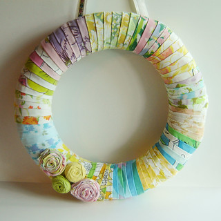 Vintage Sheet Wreath 2 | by Marci Girl Designs