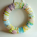 Vintage Sheet Wreath 2