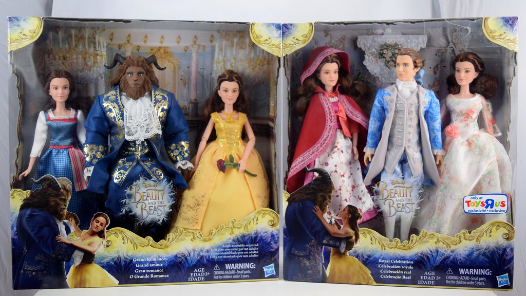 Hasbro Live Action Beauty And The Beast Dolls