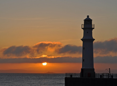Newhaven Lighhouse at Sunset | by Grant_R