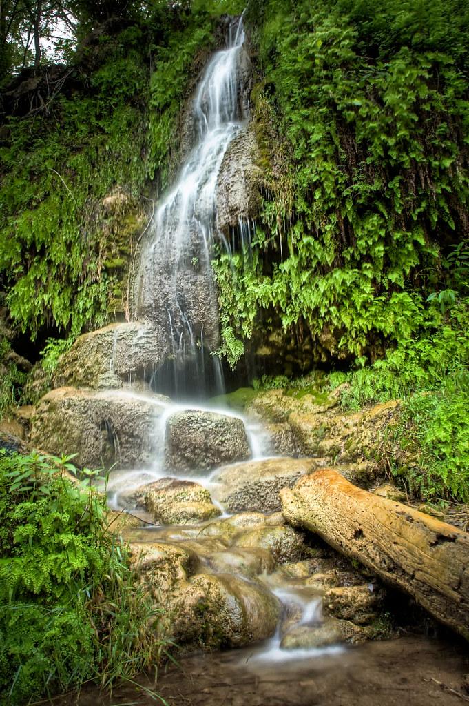 Krause Springs Waterfall | Krause Springs is possibly the ...