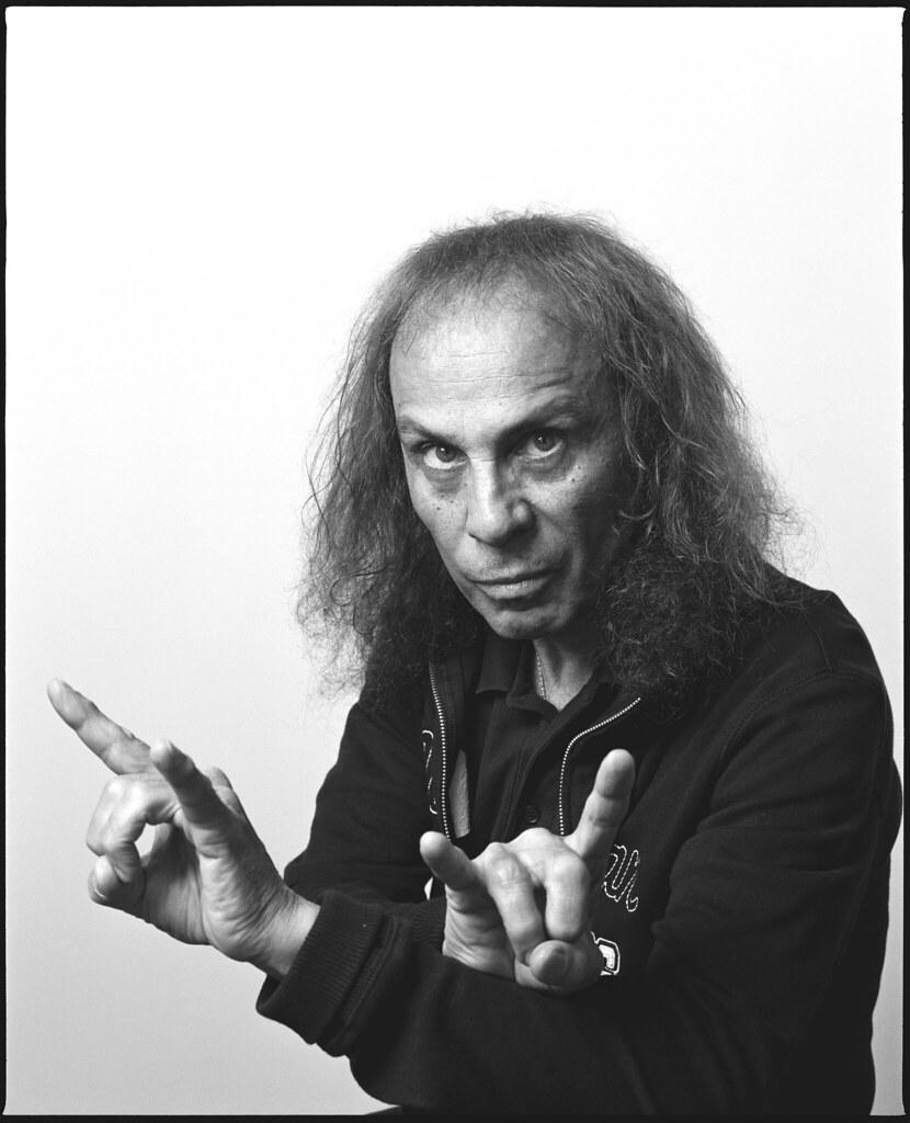 Resultado de imagem para Ronnie James Dio