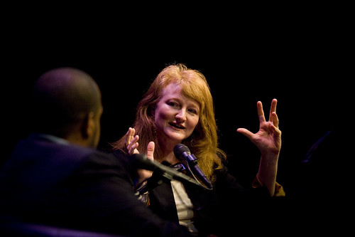 Krista Tippett and Joshua DuBois | by On Being
