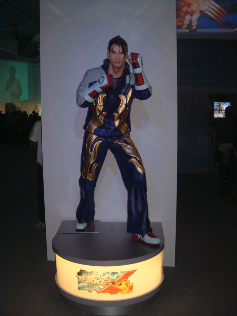 jin tekken 4 playstation experience paul chapman flickr