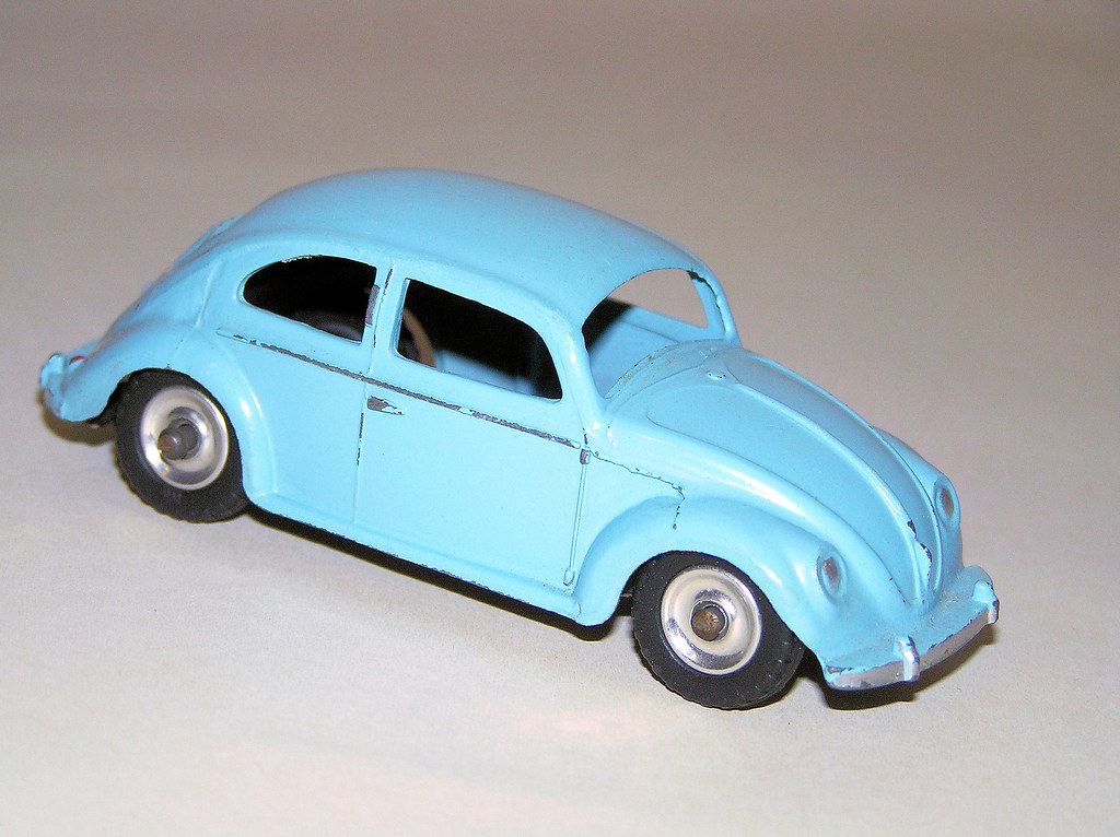 Dinky Toys 1953 57 Volkswagen Beetle 181 This