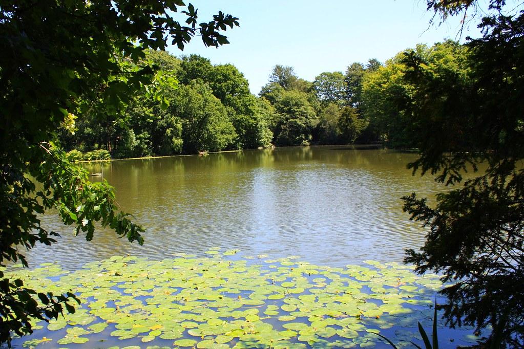 Fishing lake at crystal palace park li n love flickr for Crystal lake fishing