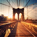 New York - Brooklyn Bridge Sunset