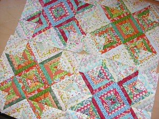 Doll quilt so far... | by flossyblossy