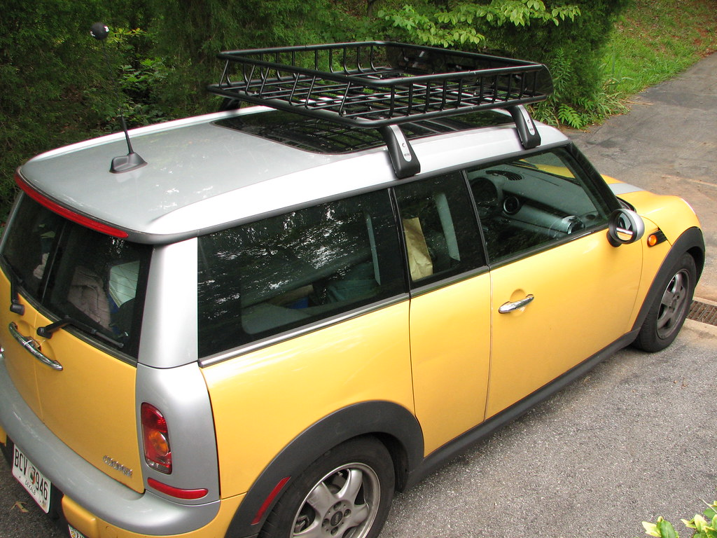 Clubman With Sportrack Basket 2008 Mini Cooper Clubman