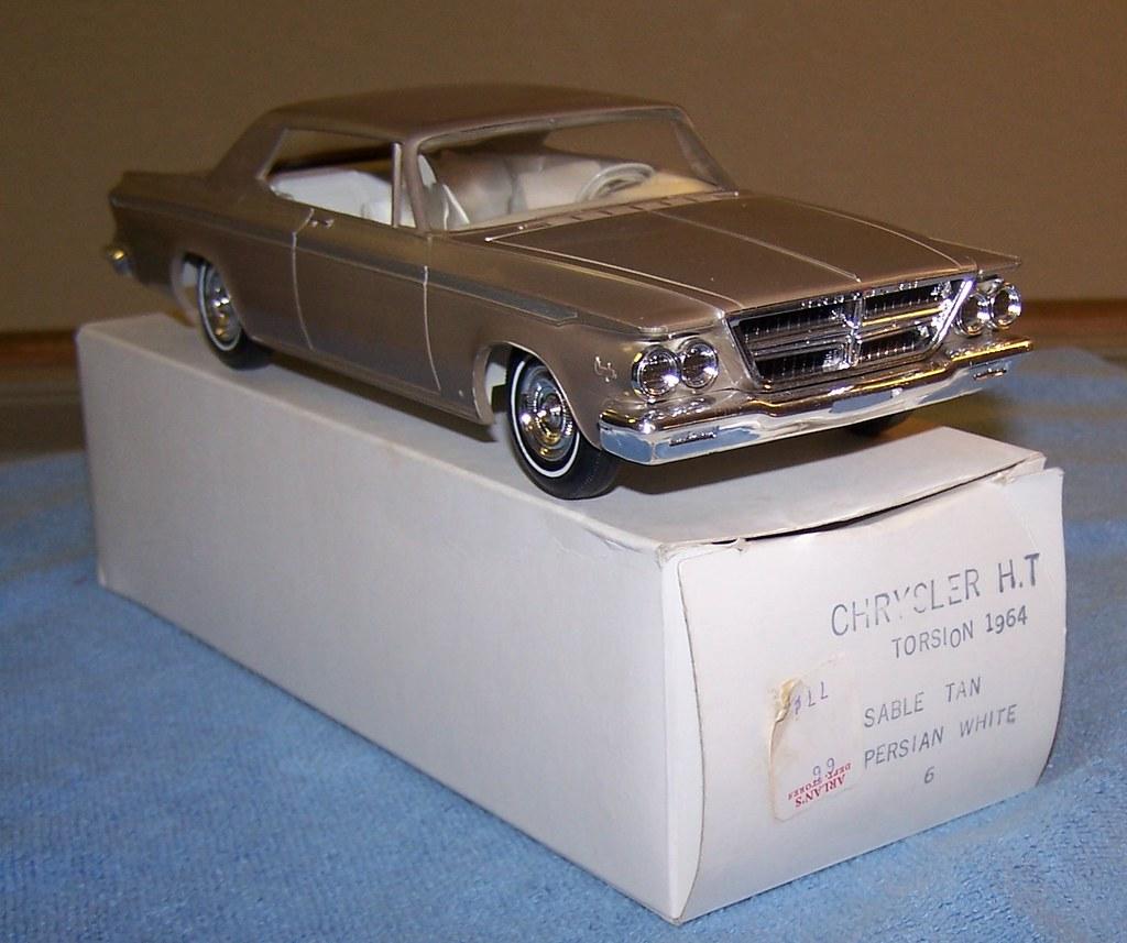 1964 Chrysler 300 2 Door Hardtop Promo Model Car