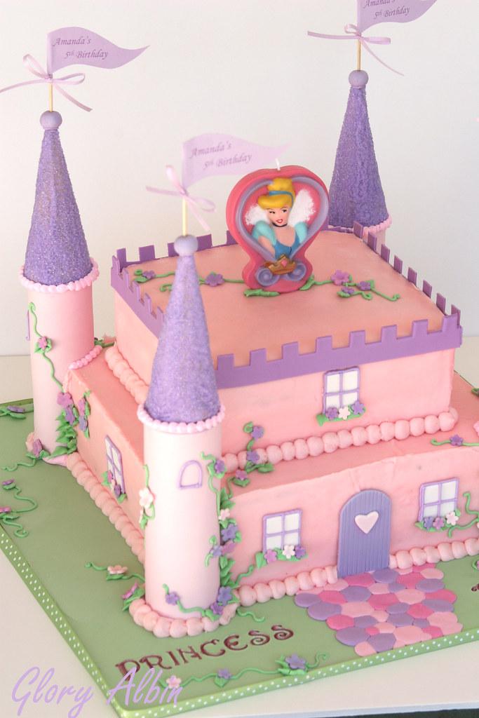 Make Disney Princess Castle Cake