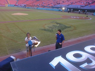 From behind the dugout, @kburkhardtsny | by penner42