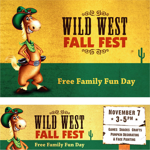 Wild west fall fest kids 39 event this is the publicity for West fall