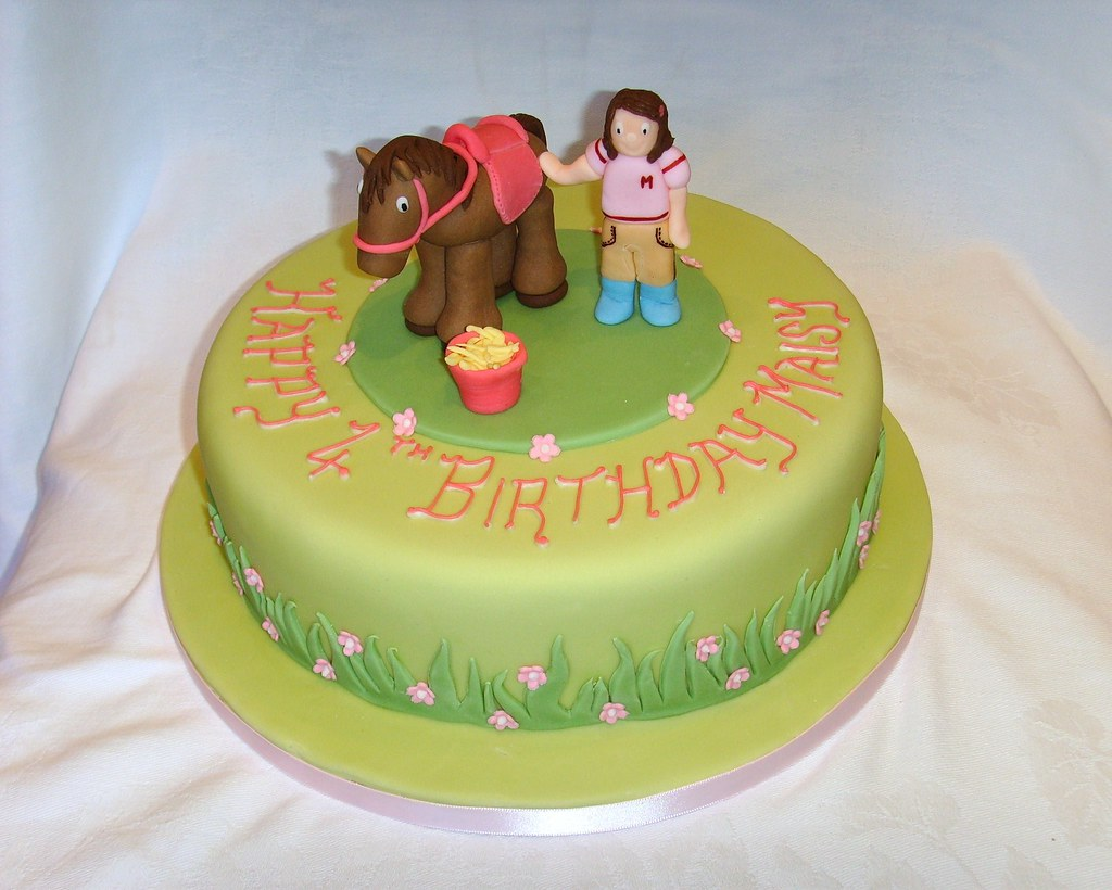 Horse Themed Birthday Cakes Horse Themed Birthday Cake