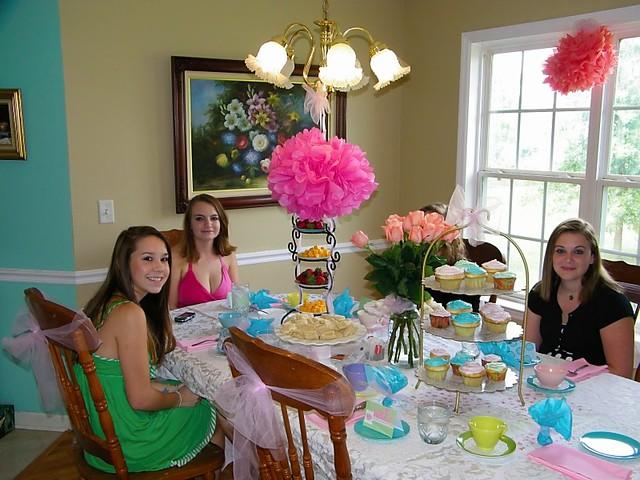 Tea Party, 16th birthd...