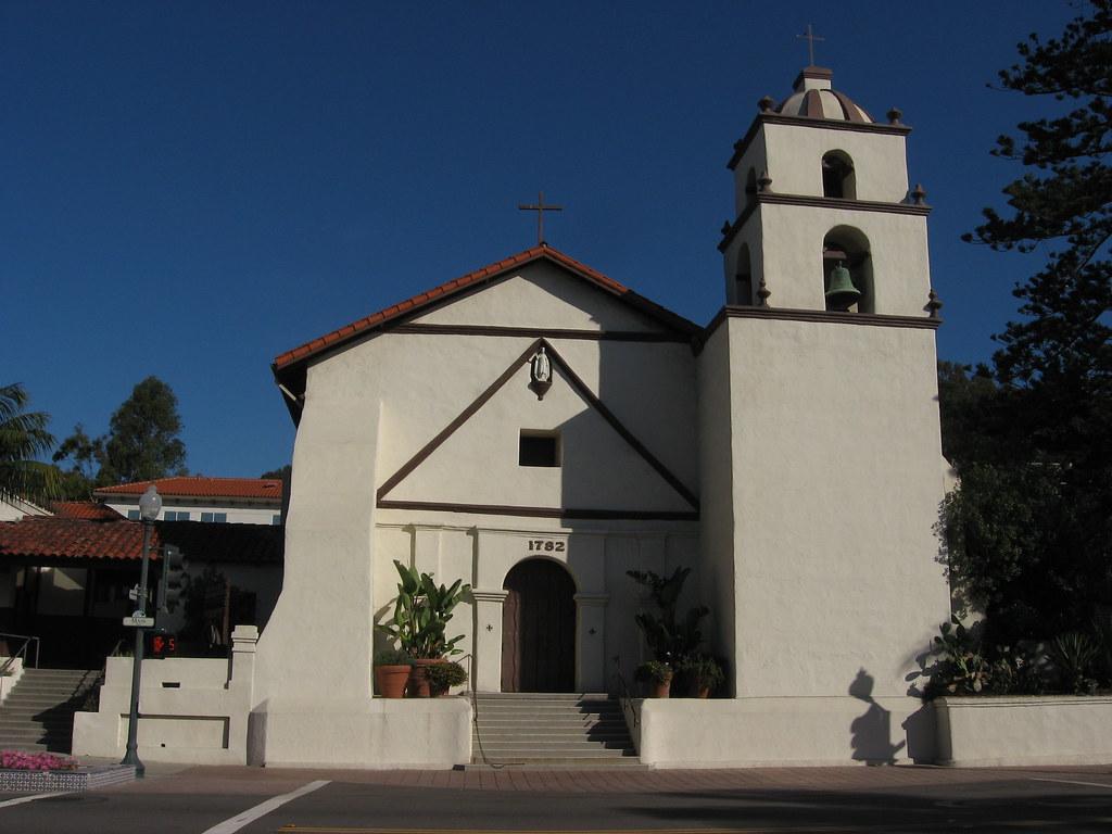 San Buenaventura Spanish Mission Ventura California 6
