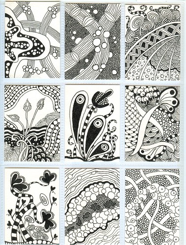 Zentangle ATCs | by PRaile