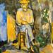 Paul Cézanne - The Gardener Vallier, 1906 at Tate Modern Art Gallery London England