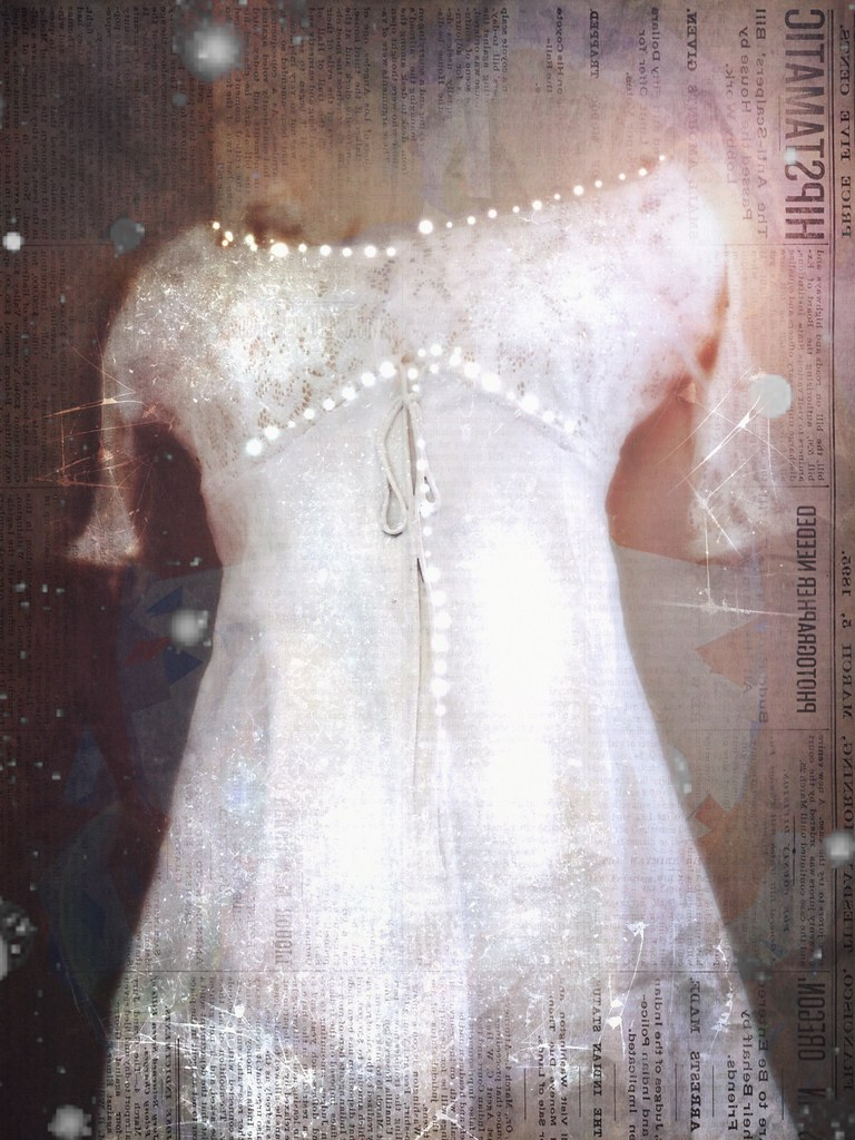 The dream of a white dress, a special time of life. The dream of a woman ...