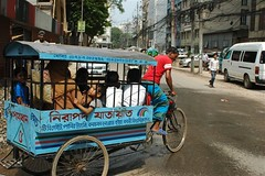 School bus - Dhaka style | by bbcworldservice