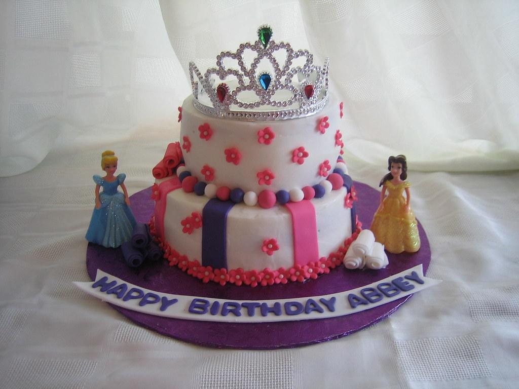 disney princess birthday cake disney princess birthday cak flickr. Black Bedroom Furniture Sets. Home Design Ideas