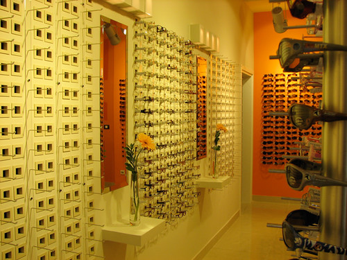 Optical shop interior design belgrade serbia for Interior designs photo