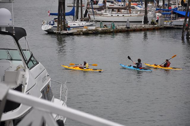 Granville Island Kayak Storage