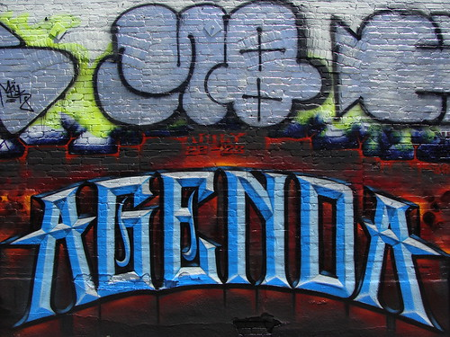 Agenda by Abel, &  MQ MSK WCA LosAngeles Graffiti Art | by anarchosyn
