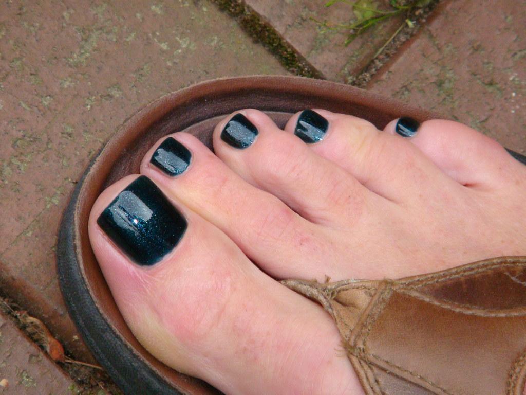 Black Nail Polish Pedicure Black Nail Polish For Men