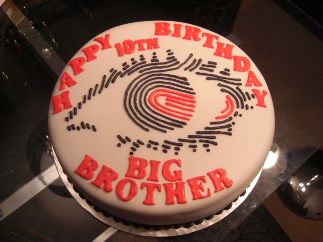 Big brother birthday cake i had to stick this one in the a flickr big brother birthday cake by restoration cake publicscrutiny Images