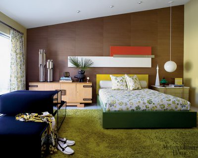 1960s palm springs mid century modern bedroom from met ho - Midcentury modern bedroom furniture ...