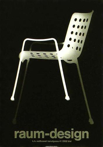 twentieth century graphic design poster designed for raum flickr. Black Bedroom Furniture Sets. Home Design Ideas