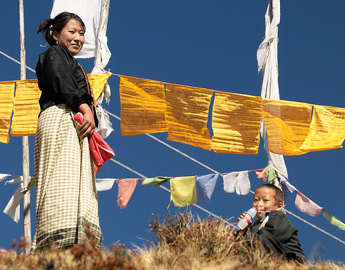 Bhutanese Woman and Child | by Waldemar*