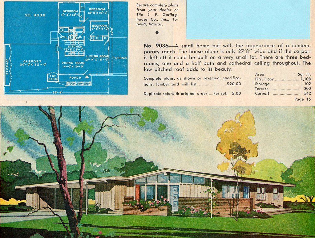 Ranch And Suburban Home Plans By Garlinghouse Ethan Flickr