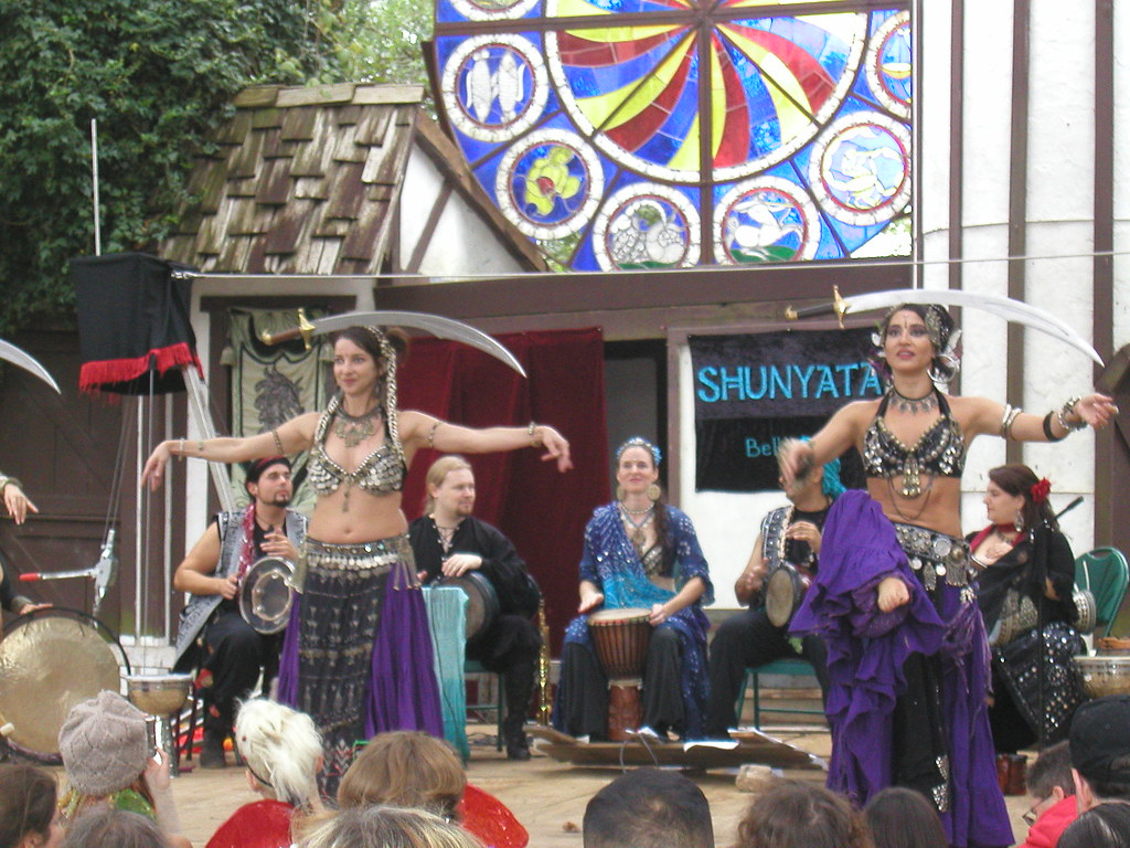 Houston Renaissance Festival 10122009 108 Gypsy Belly Da