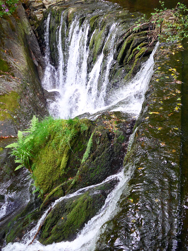 Furnace Falls in Wales using standard exposure