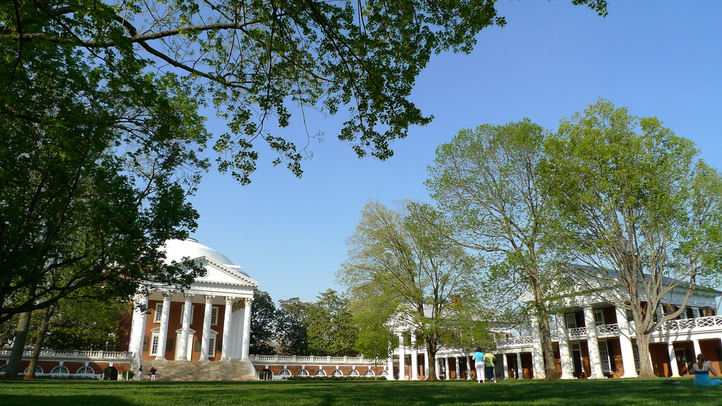 University Of Virgina  Design By Thomas Jefferson, The -3223