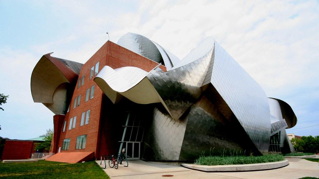 Edificio Peter B Lewis. Cleveland, Estados Unidos
