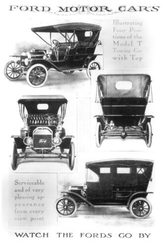 Model T Ads