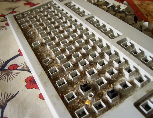 Ten years of keyboard grime | by James Bowe