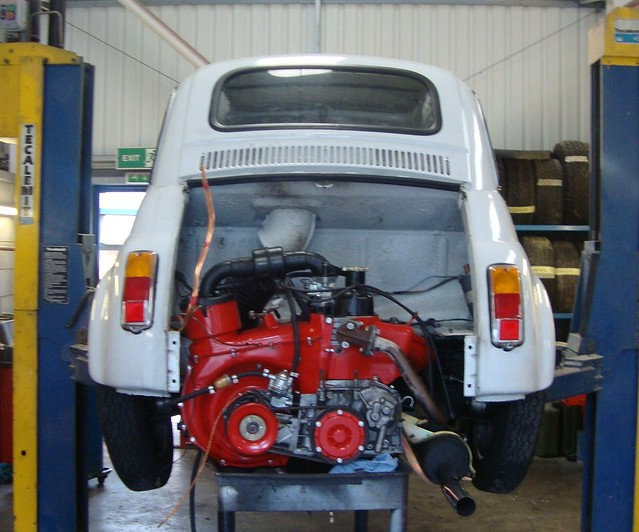 fiat 500 upgaded with 650cc engine synchro gearbox from. Black Bedroom Furniture Sets. Home Design Ideas